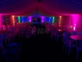 Military | 80s night | Dayglow Uplighting | Pulse Roadshow